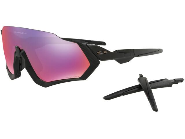 Oakley Flight Jacket Sunglasses Polished Black/Prizm Road